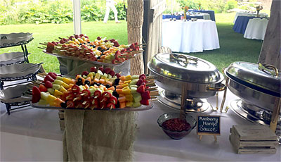 Boone NC Catering Services for Weddings